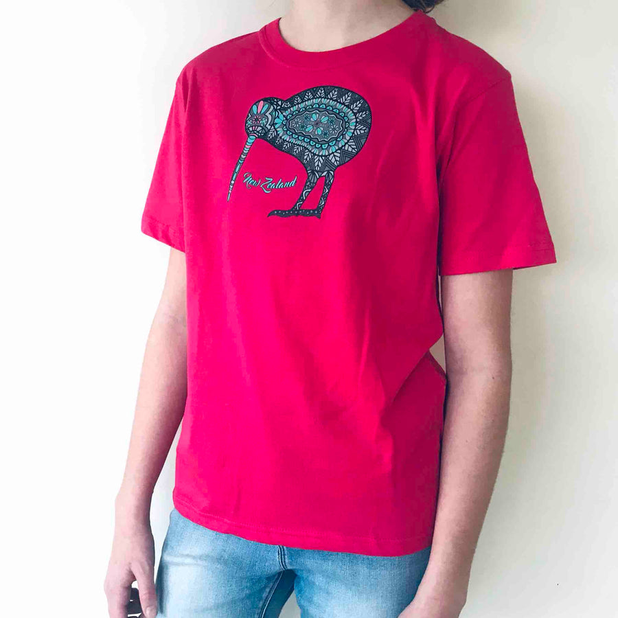 Children's T-shirt Kiwi Batik