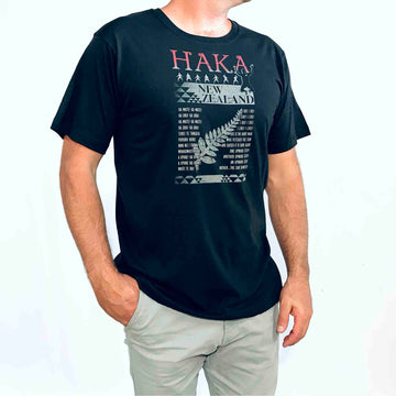 Men's Haka T-shirt Liquorice Black 602KP