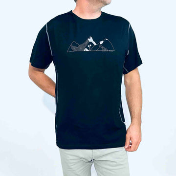 Men's Merino T-shirt Mountain MMT04