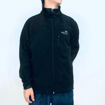 Men's Black Soft Shell Jacket 210SS