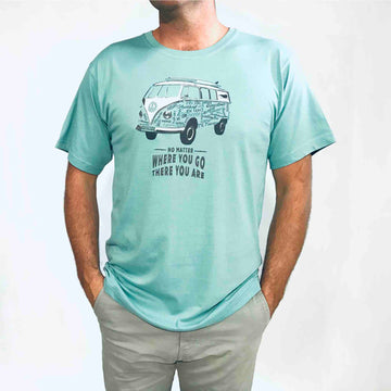 Men's Kombi T-shirt Alpine Blue 160KP