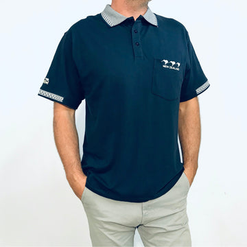 Men's Polo Shirt Three Kiwis 233P