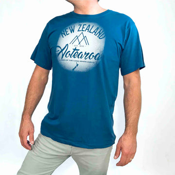 Men's NZ Aotearoa T-shirt Sterling Blue