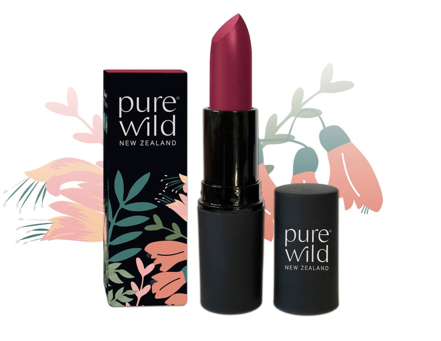 Pipi Pink Lipstick. Pure Wild®. Made in New Zealand