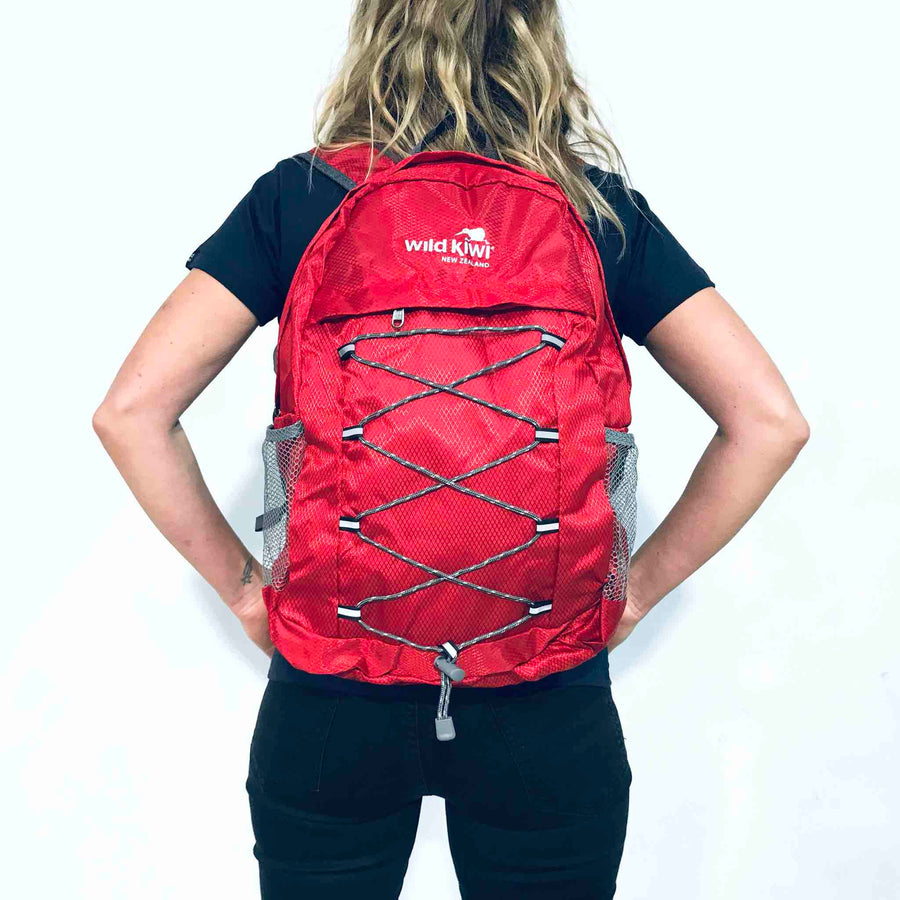 Packable Backpack Red 352KS