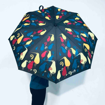 Umbrella Kiwi Bird Print | Wild Kiwi NZ