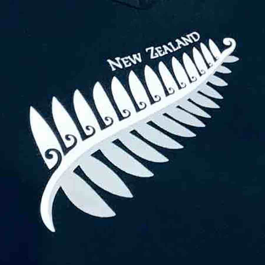 Women's T-shirt Silver Fern NZ 650KP