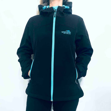 Women's Black Soft Shell Jacket 236SS