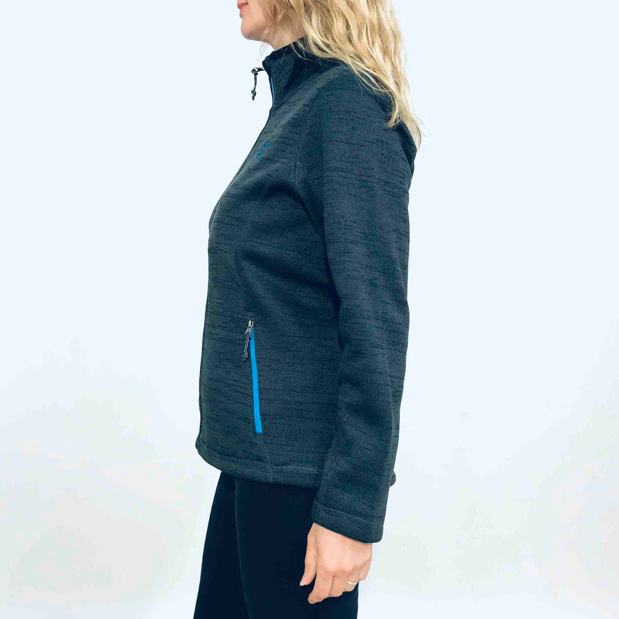 Women's Knit Fleece Jacket