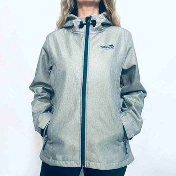 Women's Grey Tech Shell Jacket 234TJ