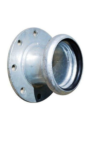 B45 - Galv. Steel Flanged Female Coupling With Seal - Table D