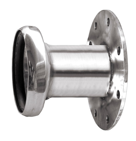 B45 – Stainless  Steel Flanged Female Coupling With  Seal - Table D