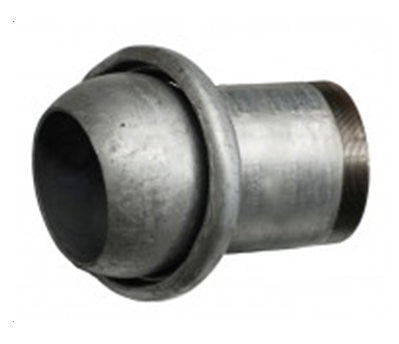 A15 – Galv. Steel Male Coupling Threaded Bpsm & Lever Ring