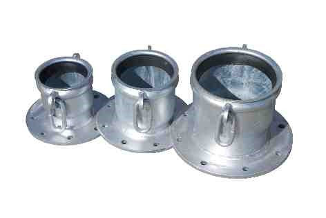 Hose Coupler Flanged (With Gasket, Lugs & Links)