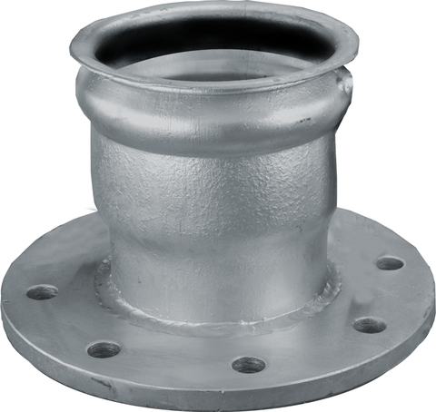 Hose Coupler Flanged (With Gasket - No Lugs or Links)