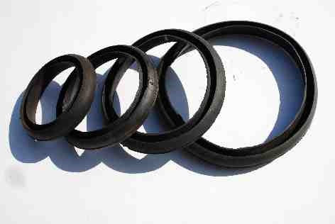 Weld Bell Round Back Gaskets