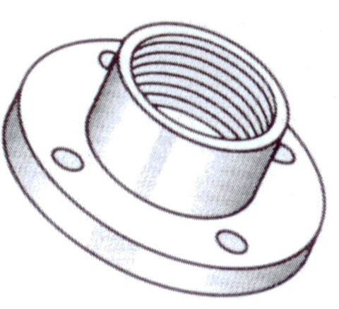 Screwed Flanges – Table D