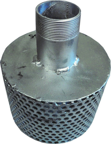 BSPM Strainer With Drawdown Tube