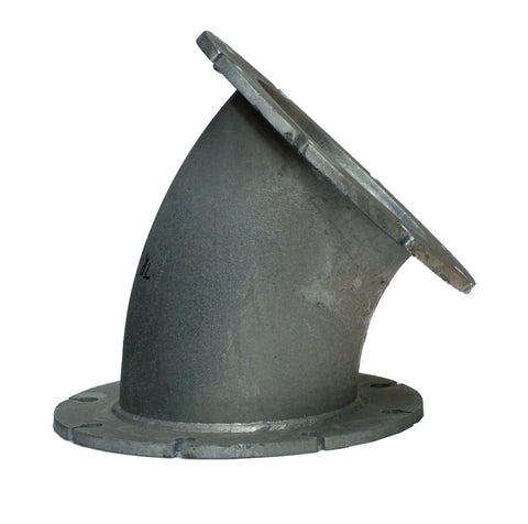Bend - 45deg Fixed Flange - Medium Wall