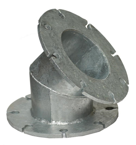 Bend - 45deg Fixed Flange