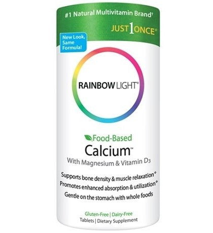 Rainbow Light Food-Based Calcium - Thuốc bổ sung canxi D3