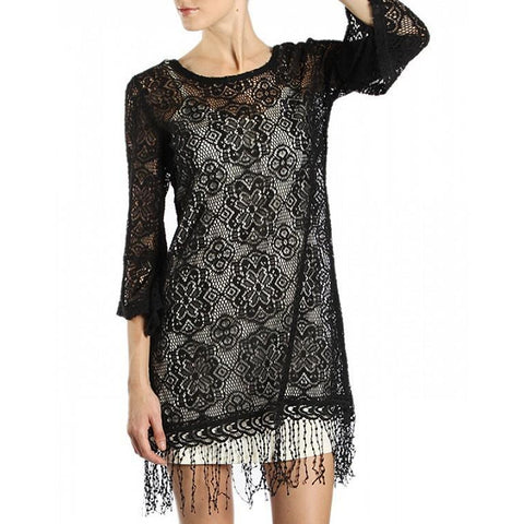 Crochet Lace Cover-up