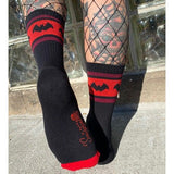 Bat Crew Socks