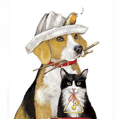 Dog and Cat Tea Towels