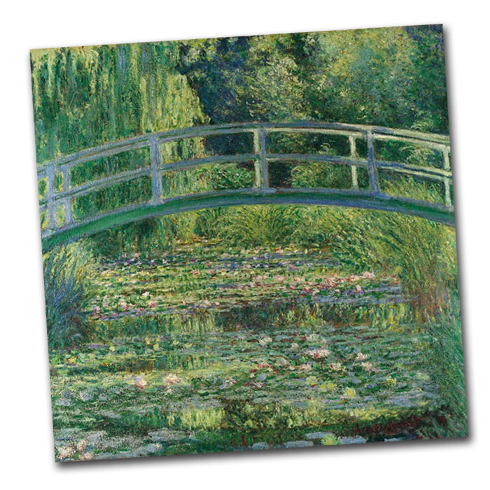 Water Lily Pond by Monet Paper Napkins - Luncheon