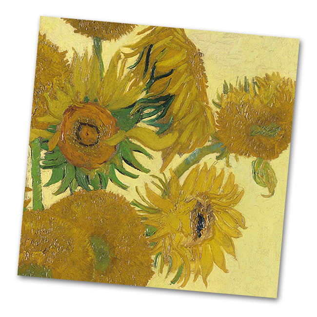 Sunflowers by Van Gogh Luncheon Napkins