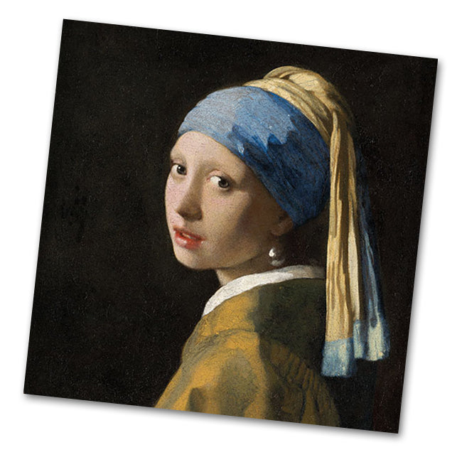 Girl in the Pearl Earring by Vermeer Luncheon Napkins