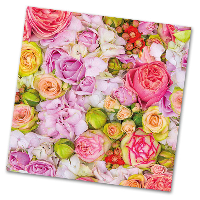 Bed of Roses Luncheon Napkins