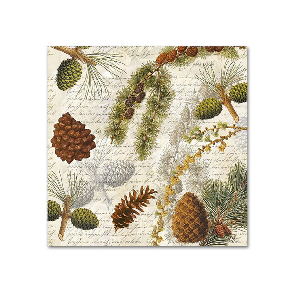 Forest Botanical Paper Napkins - Beverage