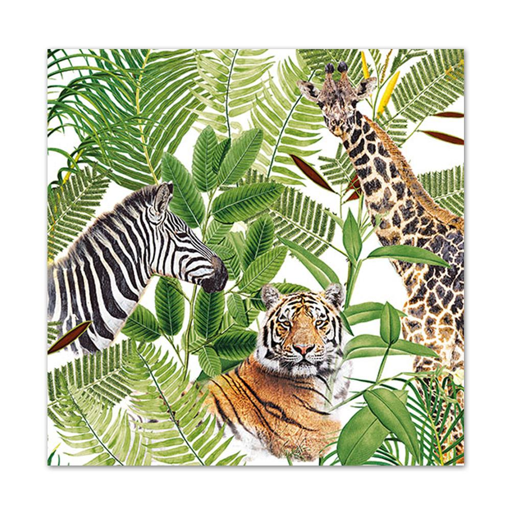 African Safari Luncheon Napkins