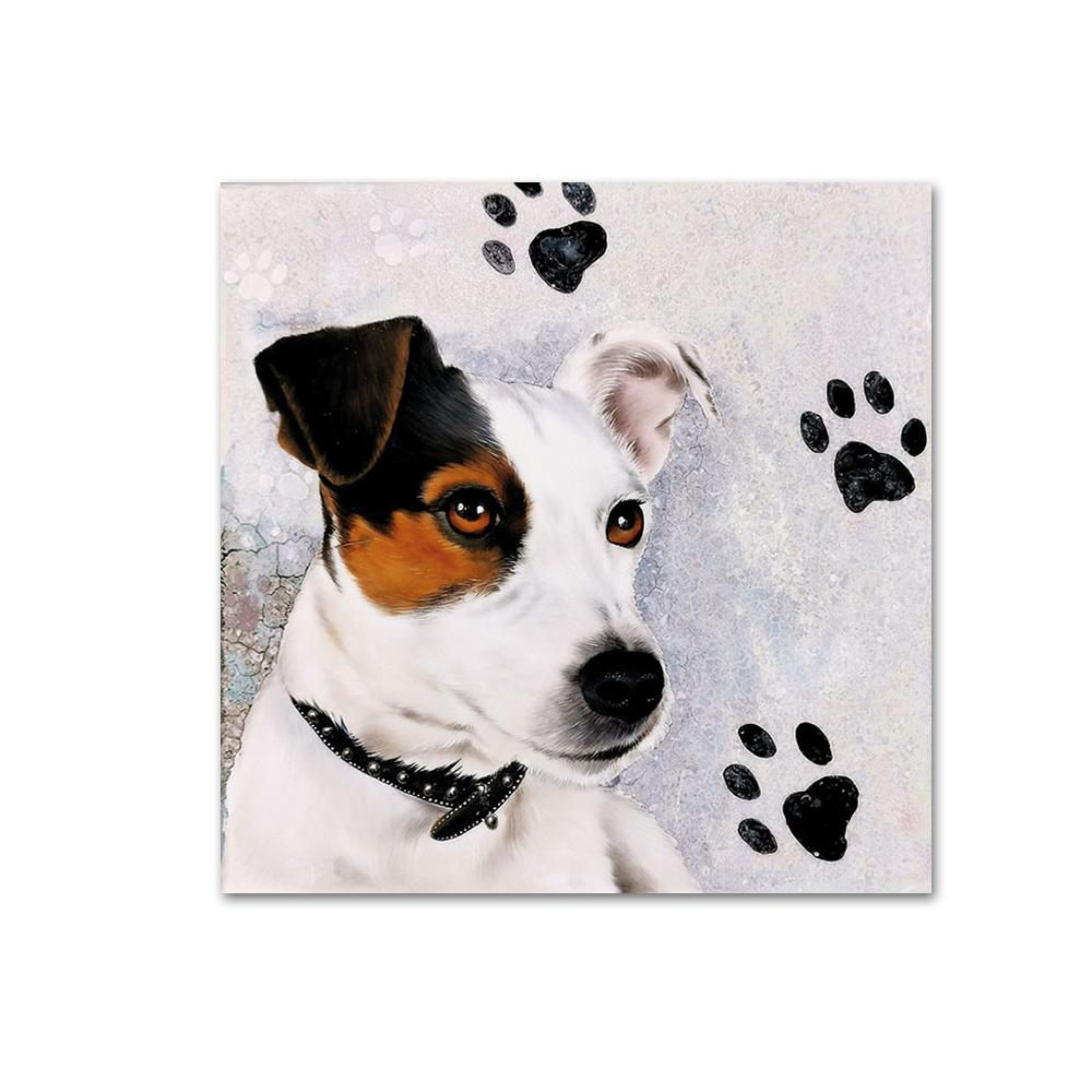Russell Terrier Paper Beverage Napkins