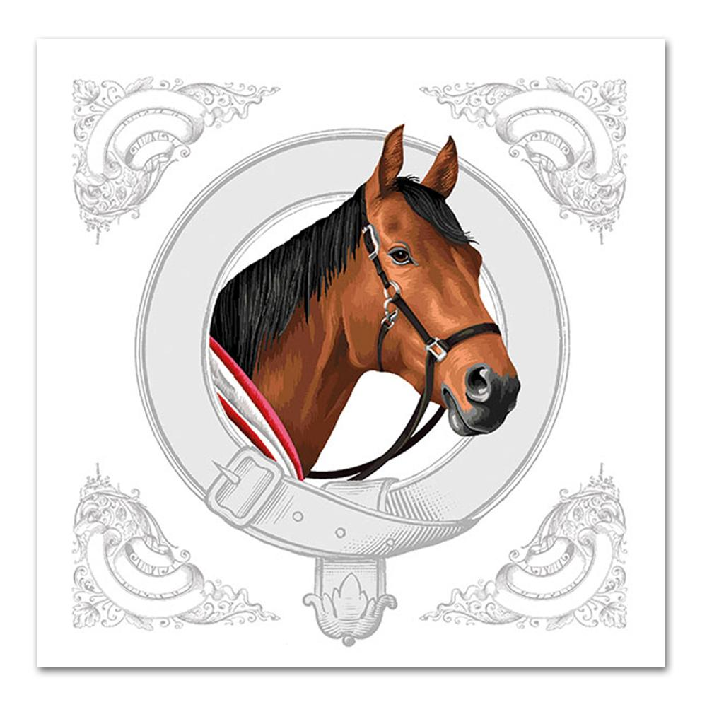 Classic Horse Paper Luncheon Napkins