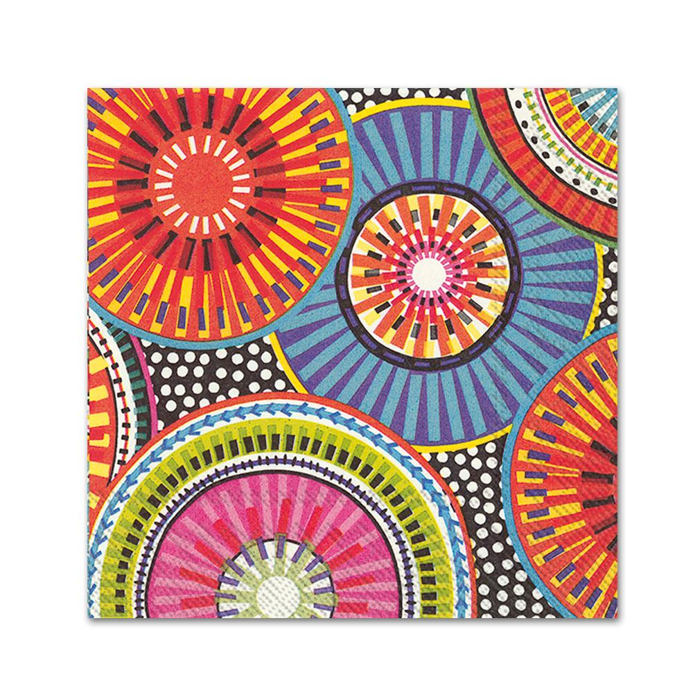 Be-Spoked Paper Napkins - Beverage