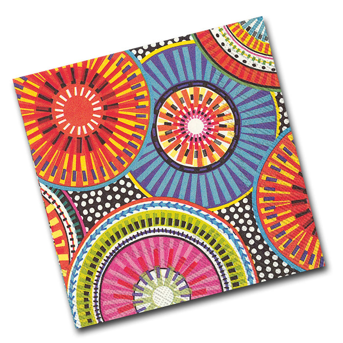 Be-Spoked Paper Napkins - Luncheon