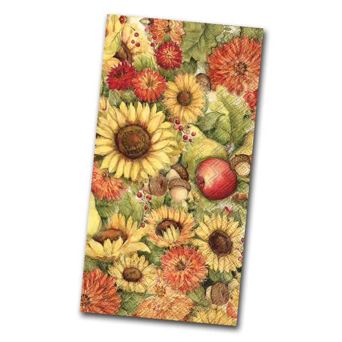 Flowers and Fruit Paper Guest Towels
