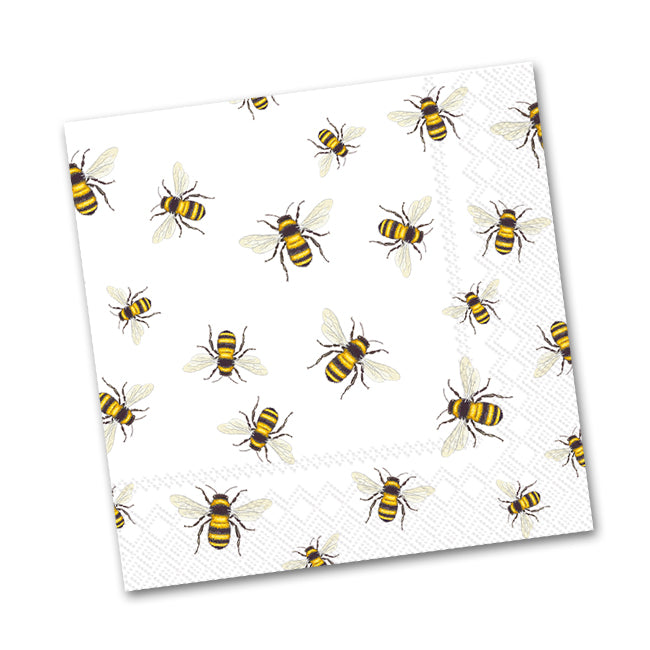 Save the Honey Bees Paper Beverage Napkins