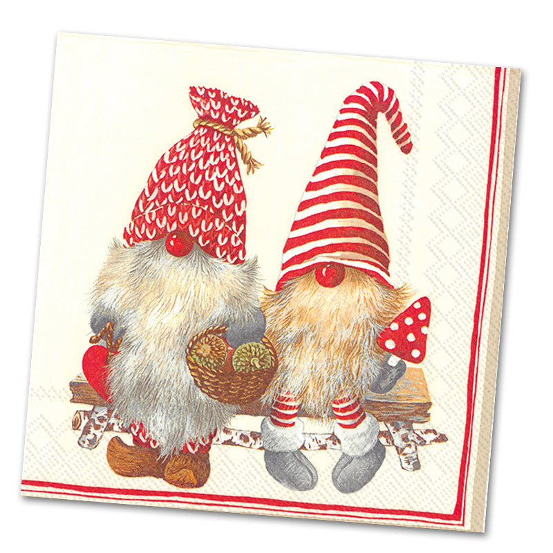 Friendly Tomte Luncheon Napkins
