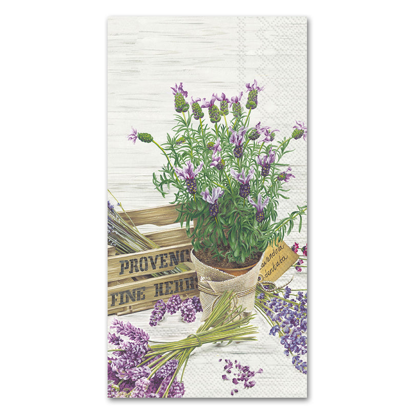 The Flavor of Provence Paper Guest Towels - Buffet Napkins
