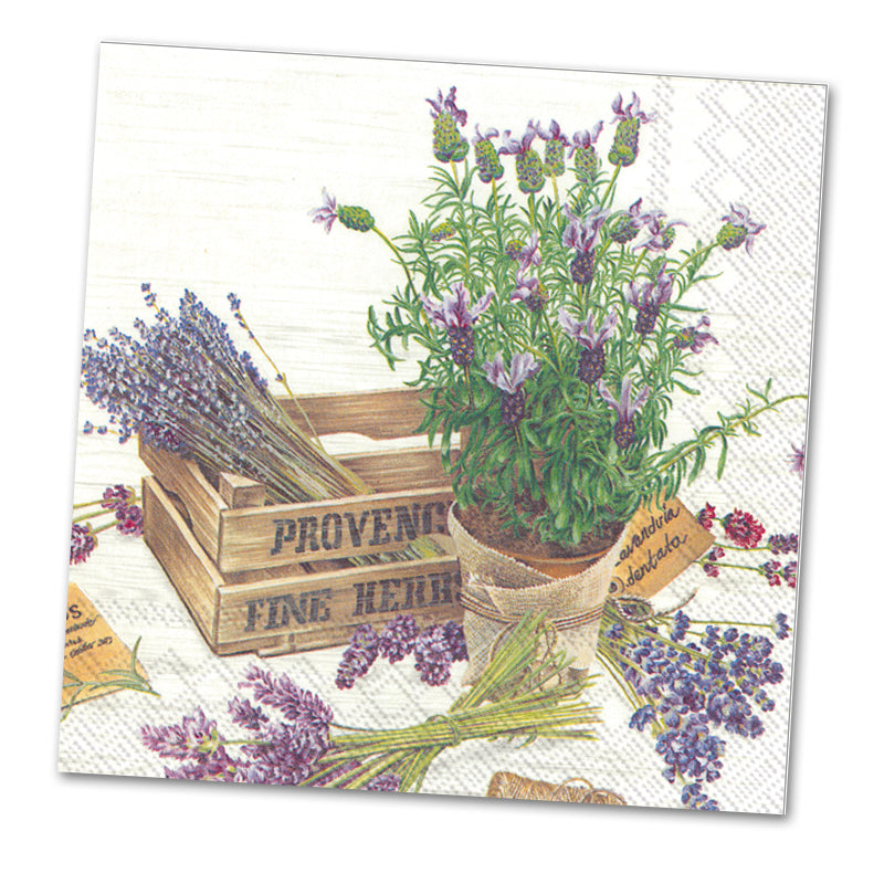 The Flavor of Provence Paper Luncheon Napkins
