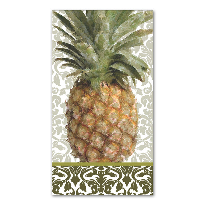 Exotic Pineapple Paper Guest Towels