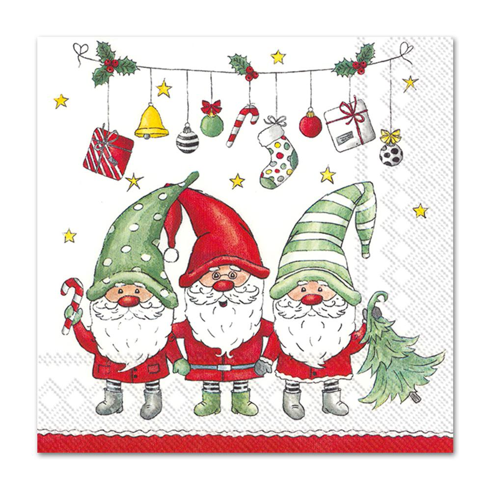 Good Fellows Gnomes Paper Napkins - Luncheon