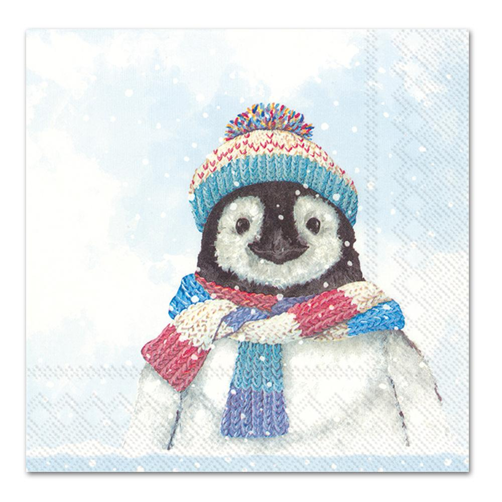 Kevin the Penguin Paper Napkins - Luncheon