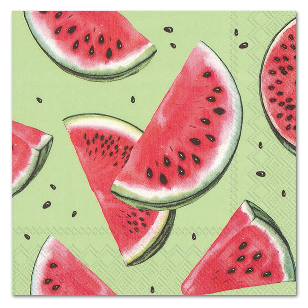 Watermelon Slices Paper Luncheon Napkins