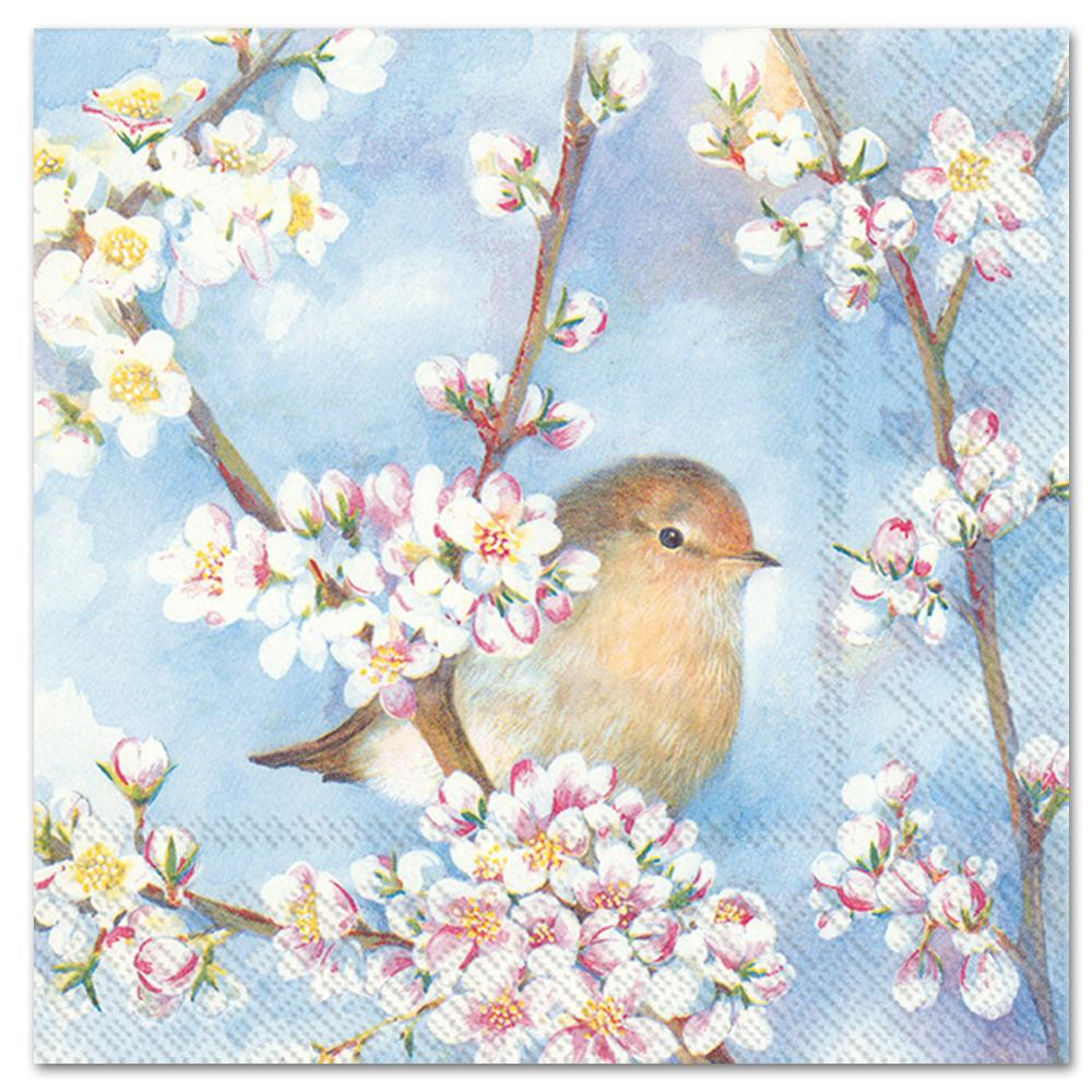 Spring Harmony Paper Luncheon Napkins