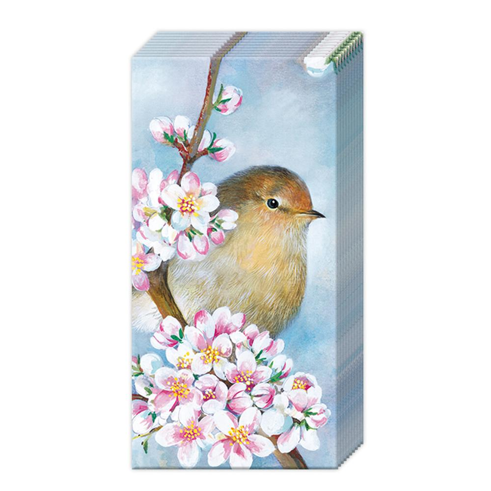 Spring Harmony Paper Pocket Tissues
