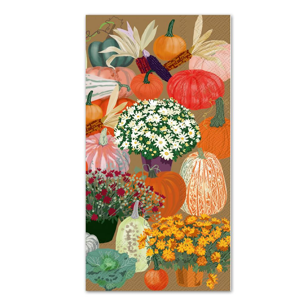 Bountiful Harvest Paper Guest Towels - Buffet Napkins